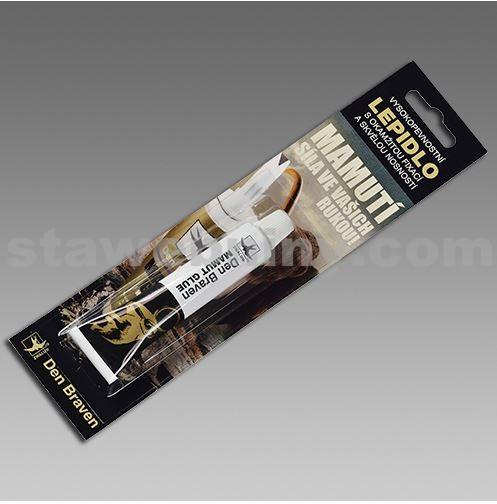 DEN BRAVEN Mamut glue (High tack) 25ml tuba v blistru bílá