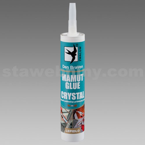 DEN BRAVEN Mamut Glue CRYSTAL 290ml transparentní