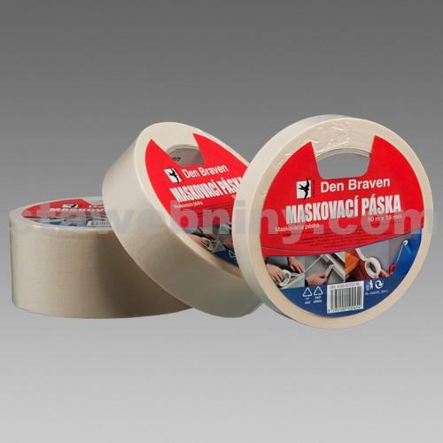 DEN BRAVEN Maskovací krepová páska 60 °C - 38mm*50bm