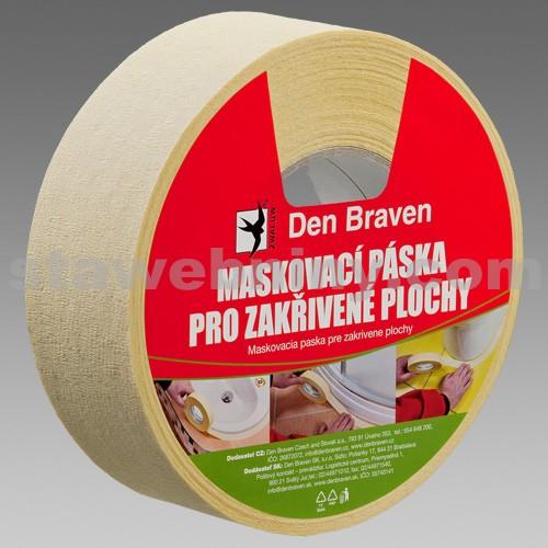 DEN BRAVEN Maskovací páska pro zakřivené plochy - 19mm*50bm