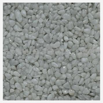 DEN BRAVEN Kamenný koberec PerfectSTONE mramorové kamínky pytel 25kg bílé 3-6mm