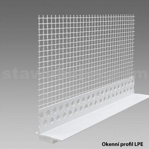 DEN BRAVEN Okenní profil LPE plast PVC 2m