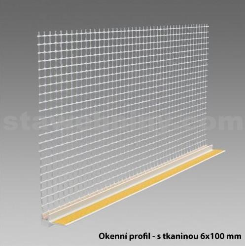 DEN BRAVEN Okenní APU profil s tkaninou 100mm/6*2,4m