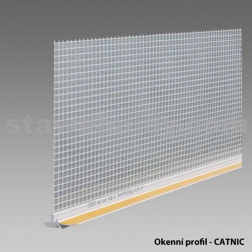 DEN BRAVEN Okenní profil pro zatep. CATNIC lamela 2,4m