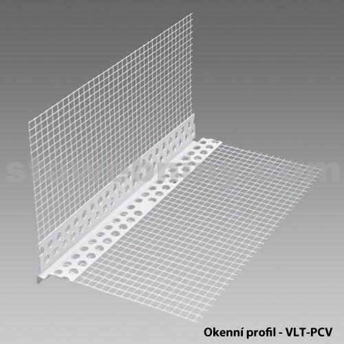 DEN BRAVEN Okenní profil VLT - 2H plast PVC 2m