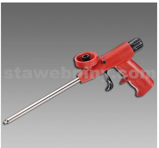 DEN BRAVEN Aplikační pistole na PUR pěny - M200 plast/plast červená