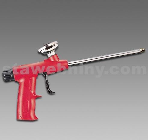 DEN BRAVEN Aplikační pistole na PUR pěny - M300 - Plast/kov standard červená