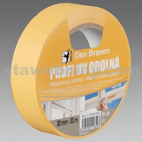 DEN BRAVEN Profi UV odolná maskovací páska - 38mm*33bm
