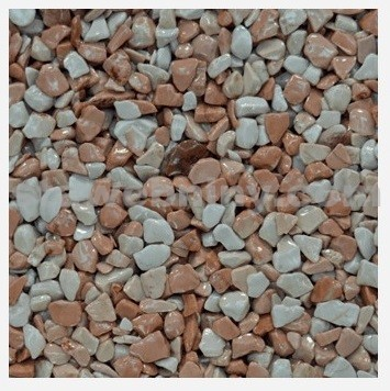 DEN BRAVEN Kamenný koberec PerfectSTONE mramorové kamínky pytel 25kg růžová 3-6mm