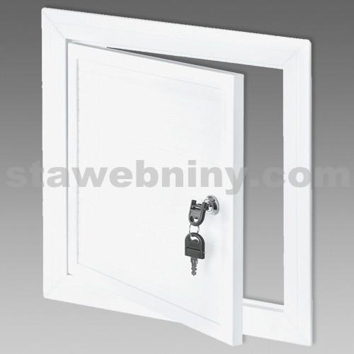 DEN BRAVEN Revizní dvířka bílá PVC 600x600 VE1020