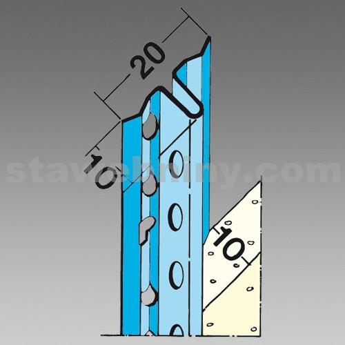 DEN BRAVEN Rychloomítník 10 mm 1105 - 2,6 m x 10 mm