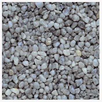 DEN BRAVEN Kamenný koberec PerfectSTONE mramorové kamínky pytel 25kg tmavě šedý 3-6mm