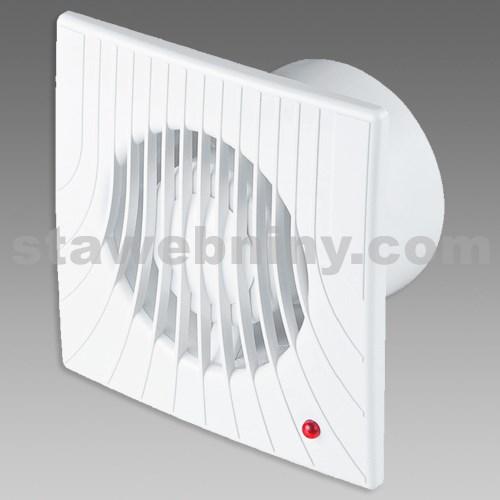 DEN BRAVEN Ventilátor axiální (VA) prům. 100 bílá VE1171