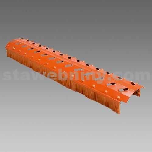 DEN BRAVEN Větrací hřebenový pás AIR FLEX S -75*1030mm cihlově červený