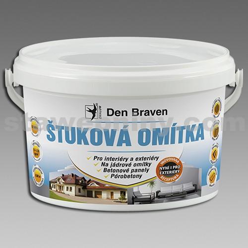 DEN BRAVEN Štuková omítka 8kg bílá