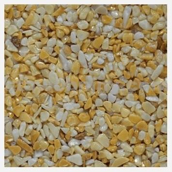 DEN BRAVEN Kamenný koberec PerfectSTONE mramorové kamínky pytel 25kg žlutá 3-6mm