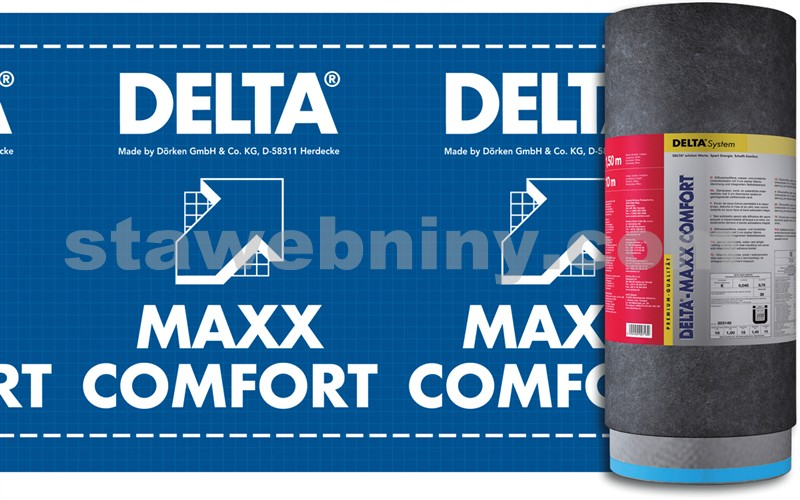 d rken delta maxx comfort tepeln izola n pojistn hydroizolace stavebniny dej se do toho. Black Bedroom Furniture Sets. Home Design Ideas