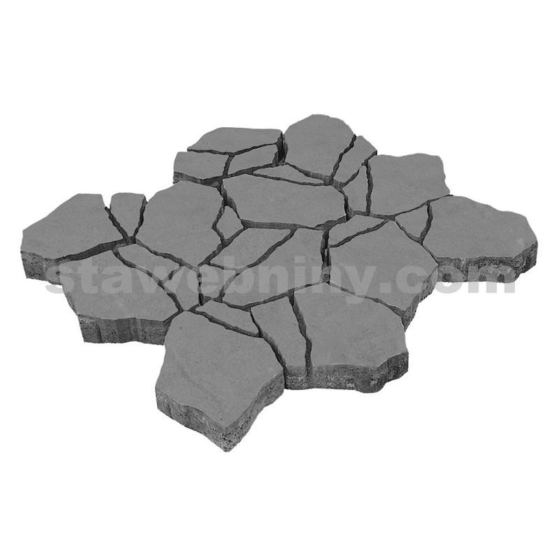 DITON Reliéfní dlažba STONE 8 cm přírodní