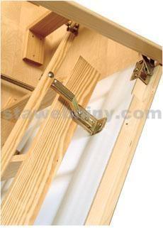 DOLLE Dřevěné madlo ke skládacím schodům
