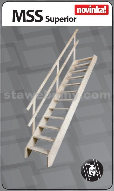 FAKRO Mlynářské schody MSS Superior