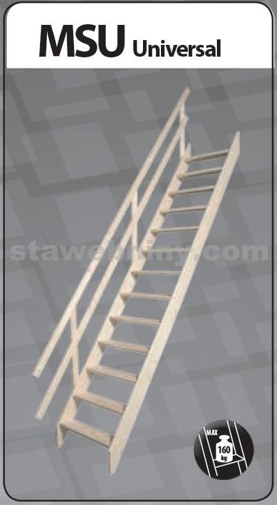 FAKRO Mlynářské schody MSU Universal