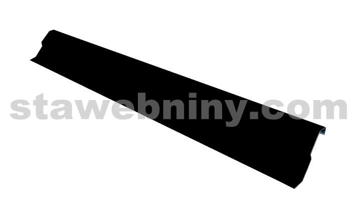 HPI Zakončovací lišta pro těsnící pásy hliník 2000/60mm hnědá/antracit