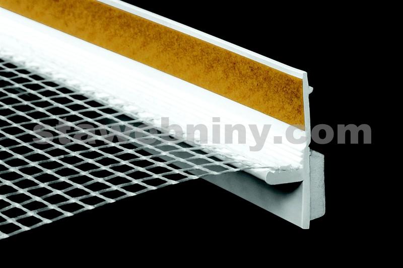 HPI Lišta začišťovací s tkaninou Standard + s těsnícím jazýčkem, délka 1,4m