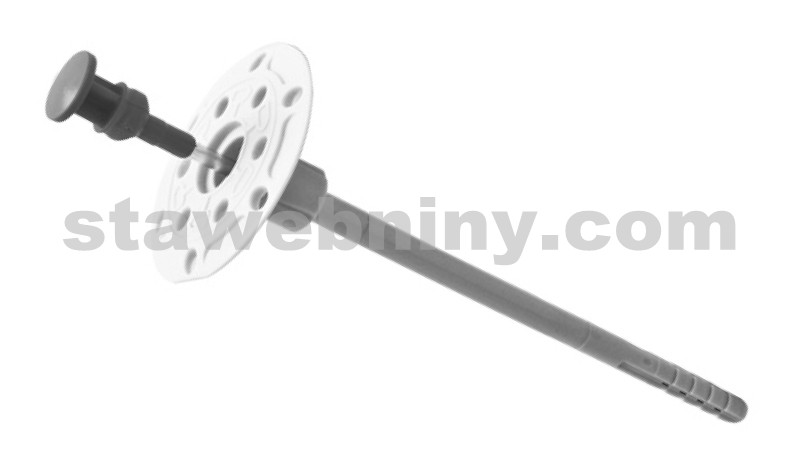 HPI KEW hmoždinka talířová s kovovým trnem TSD-V 8*280mm s ETA