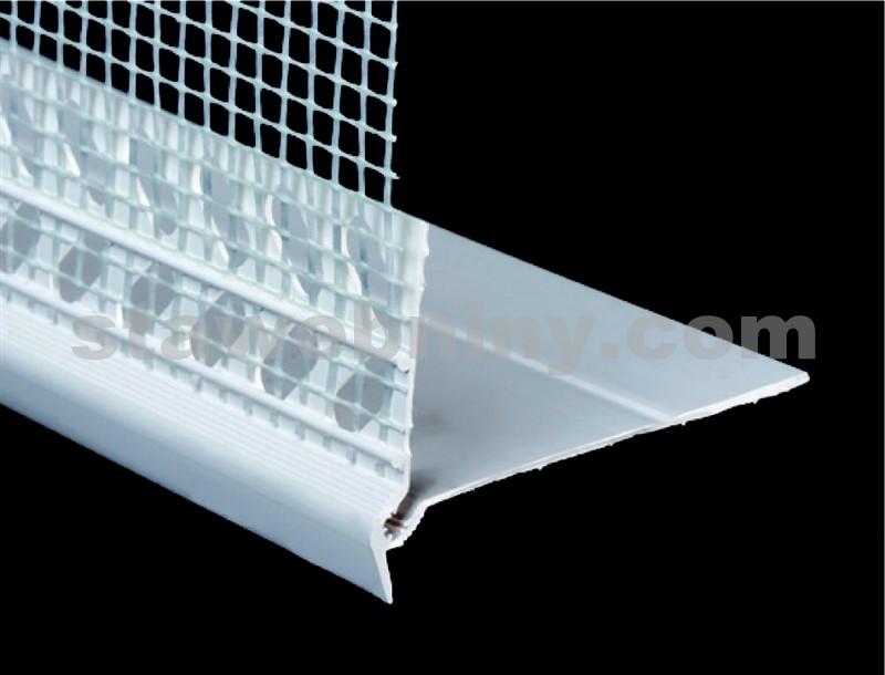 HPI Profil s okapnicí přechodový délka 2m, přesah tkaniny 120mm