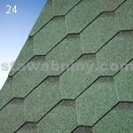 IKO samolepivé šindele ARMOURSHIELD 24 - lesní zelená ultra - samolepivý