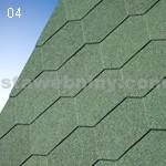 IKO samolepivé šindele ARMOURSHIELD 04 - lesní zelená - samolepivý