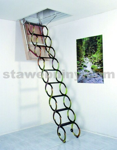 JAP půdní stahovací schody LUSSO 900x500mm