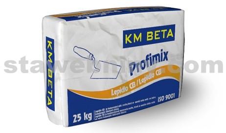 KMB PROFIMIX Lepidlo CB - tenkovrstvá zdící malta na žebra 10 N/mm2 - ZM 912 25kg