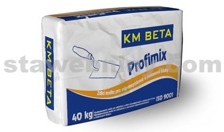 KMB PROFIMIX Zdící malta na VPC a betonové bloky 20 N/mm2 - ZM 920 40kg
