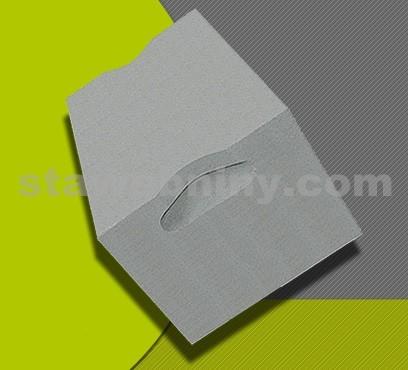 PORFIX Tvárnice šedá (popílková) 500*250*250 hladká P2-500