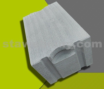 PORFIX Tvárnice šedá (popílková) 500*250*375 P+D P2-500