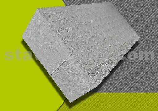 PORFIX Příčkovka šedá (popílková) 500*250*125 hladká P2-500
