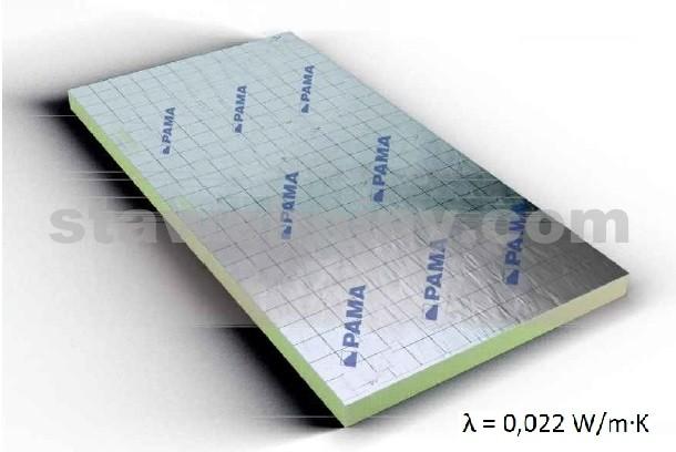 PAMA PAMAtherm PIR izolace PIR 022 tl. 180mm