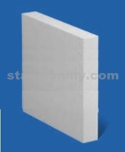 PORFIX Pískový maxipříčkovka bílá 500*500*125 hladká P2-500
