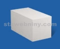 PORFIX Pískový tvárnice bílá 500*250*250 hladká P4-600