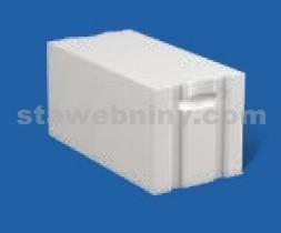 PORFIX Pískový tvárnice bílá 500*250*375 P+D P4-600