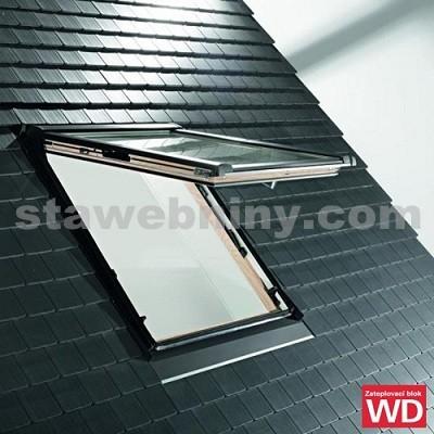 ROTO Střešní okno blueTec Plus Designo R8 WDF R89P K W WD AL 7/9 se zateplovacím blokem