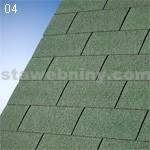 IKO klasické šindele SUPERGLASS 3 tabulový 04 - lesní zelená