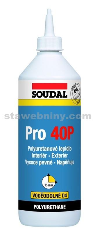 SOUDAL Konstrukční polyuretanové lepidlo PRO 40P 750g