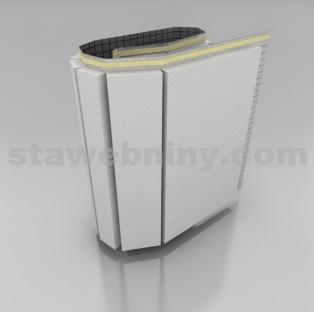 Polystyren Podlahový STYROROLL 100 tl. 35mm