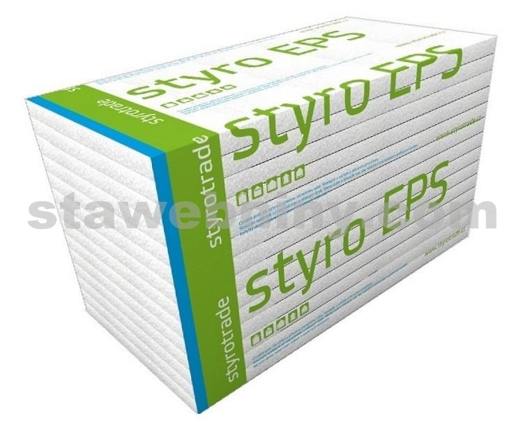 Polystyren Fasádní STYROTRADE styro EPS 70 F tl. 130mm, cena za ks