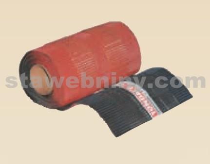 TONDACH Větrací pás kovový hřebene a nároží (olovo/cín) 5000/380mm (červená/hnědá)