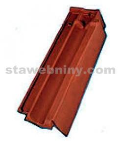 TONDACH FALCOVKA 11 taška okrajová pravá režná