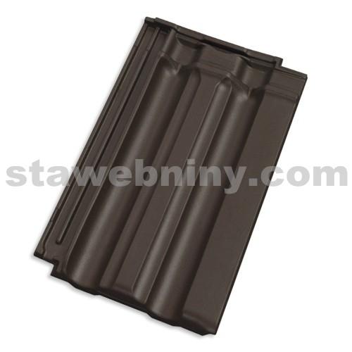 TONDACH FALCOVKA 11 taška základní tmavě hnědá engoba