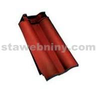 TONDACH ROMÁNSKÁ 12 taška okrajová levá černá engoba